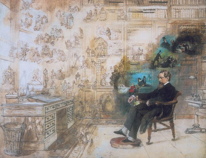 characters are - dickens_dream_Robert W. Buss 1870 -1875
